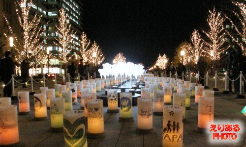 アンビエント・キャンドルパーク@光都東京・LIGHTOPIA 2011