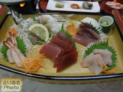 館山シーサイドホテル 夕食膳・舟盛