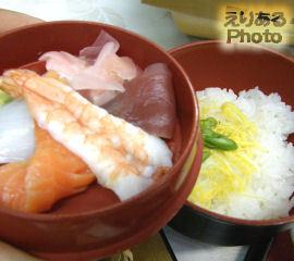 館山シーサイドホテル 夕食膳・ちらし寿司