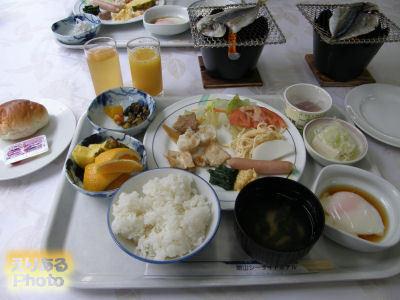館山シーサイドホテル朝食ブッフェ