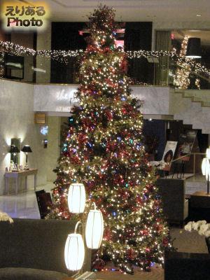 ホテル ニッコー サンフランシスコ(Hole Nikko San Francisco)のクリスマスツリー